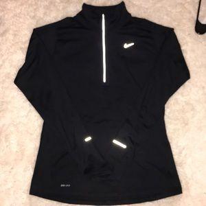 Nike Black Halfzip